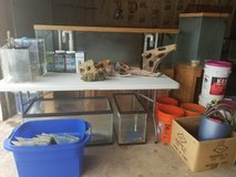 12 FISH TANKS & MANY SUPPLIES* 125 GALLON INCLUDED! in Yorkville, Illinois
