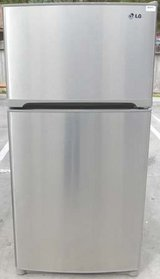 22 CU. FT. LG REFRIGERATOR- STAINLESS STEEL in Camp Pendleton, California