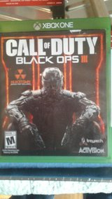 Black Ops 3 for Xbox one in Fort Campbell, Kentucky