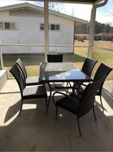 Hampton Bay- 6 Chair patio set w/ 6 cushions in Camp Lejeune, North Carolina
