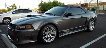 S281 2003 Ford Mustang Saleen in Davis-Monthan AFB, Arizona