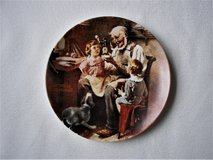 """1977 Norman Rockwell's """"The Toy Maker"""" Limited Edition Exc Cond in Naperville, Illinois"""