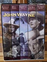 Box set John Wayne vhs in Sugar Grove, Illinois