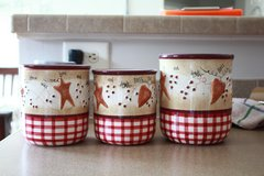 Americana 3 pc set  containers in Beaufort, South Carolina