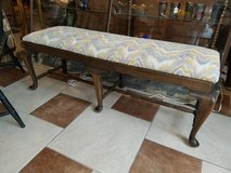 Antique Upholstered Bed Bench in Fort Leonard Wood, Missouri