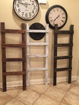 Blanket ladders (solid stained) in Leesville, Louisiana