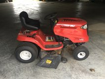 Troy-Bilt Riding Lawn Mower. Automatic rarely used recently serviced in Moody AFB, Georgia