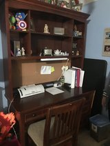 Desk with hutch and student chair in Fort Campbell, Kentucky