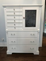 Chalk Painted Dresser Tallboy Chest of Drawers in Chicago, Illinois