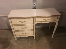 French provincial desk in Fort Campbell, Kentucky