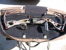 Hoyt Rampage XT Compound Bow with Accessories. in Oceanside, California