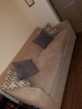 Sleeper Sofa Couch Bed - Beige - $375 in Sugar Land, Texas