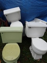 Odd lot toilets, wall toilet, urinal - NEW and used in Conroe, Texas