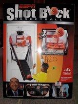 ESPN SHOT BLOCK BASKETBALL (BRAND NEW) in Yorkville, Illinois