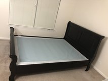Queen Headboard & Bed frame for sale in Bolingbrook, Illinois