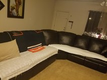 Sectional sofa with 2 recliners in Leesville, Louisiana