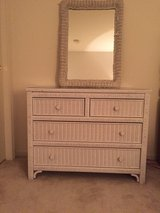 Wicker bacholette dresser in Yorkville, Illinois