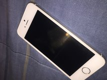 Unlocked White iPhone 5s + Phone case and charger in Fort Campbell, Kentucky
