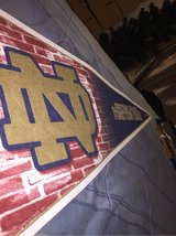 Notre Dame Fighting Irish Pennant in Fort Campbell, Kentucky