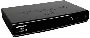Free English Satellite Television from the UK with Grundig Freesat Digital Box in Wiesbaden, GE