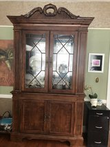 Beautiful Cherry lighted China Cabinet in Beaufort, South Carolina