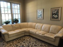 Leather couch in Wilmington, North Carolina
