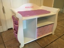American Girl Wood Changing Table In Naperville, Illinois
