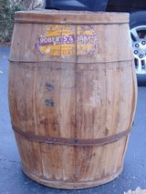 Large Old Wood Barrel in Chicago, Illinois