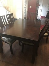 Dining table set ( six chairs) in Fort Campbell, Kentucky