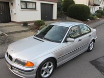 BMW 316 i automatic, Model 2000, A/C, brand new certificated POV inspection, integrated child seats in Baumholder, GE