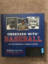 Obsessed with Baseball Trivia Book in St. Charles, Illinois