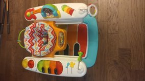 Fisher-Price 4-IN-1 Step N Play Piano - 20 Musical Activities. Grows W/ Baby in Fort Lewis, Washington