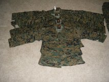 Marine Cammies/ Boots/ Alpha Blouse/ Covers/ in Quantico, Virginia