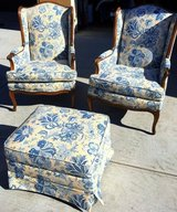 Chairs & Ottoman in Vacaville, California