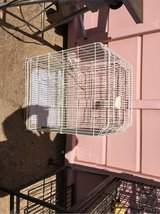 white bird cage good condition in 29 Palms, California