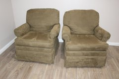 Sage Green His and Hers Glider Chairs (Star Furniture) in CyFair, Texas