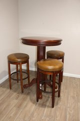 Bar Height Table and Stools in Kingwood, Texas
