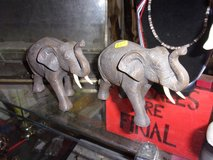 Set of Two Elephants in Fort Riley, Kansas