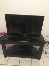 Panasonic Tv 220 with stand in Spangdahlem, Germany