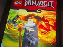 Lego Ninjago Master of Spinjitzw scroll FABRIC  decor  poster 35 x 15 in Pleasant View, Tennessee
