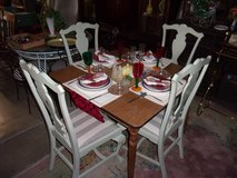 Square Table and Four Matching Chairs in Fort Riley, Kansas