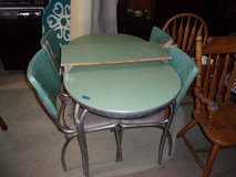 Vintage Project Table With Leaf and Four Chairs in Fort Riley, Kansas