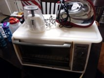 Move sale, toaster oven hand held mixer food scale in Beaufort, South Carolina