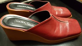 Red Mule Wedges in Chicago, Illinois