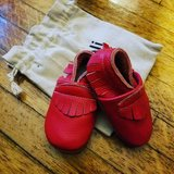 Red Genuine Leather Moccassins in Watertown, New York