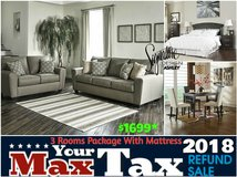 MAX YOUR TAX SALE -Dream Rooms Furniture in Kingwood, Texas