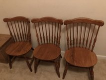 3 Matching Wood Chairs in Kingwood, Texas