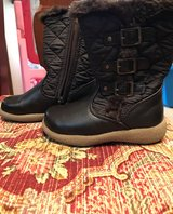 Toddler Girl Brown Boots Sz.8 in Okinawa, Japan