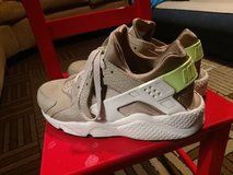 Nike Air Huarache Run PRM Premium Desert Camo Brown Green Mens in New Lenox, Illinois