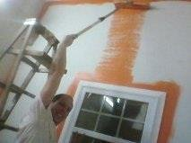 drywall paint we fix holes in walls ceilings haul trash hang tvs faucets fans porch garage door ... in Fort Campbell, Kentucky